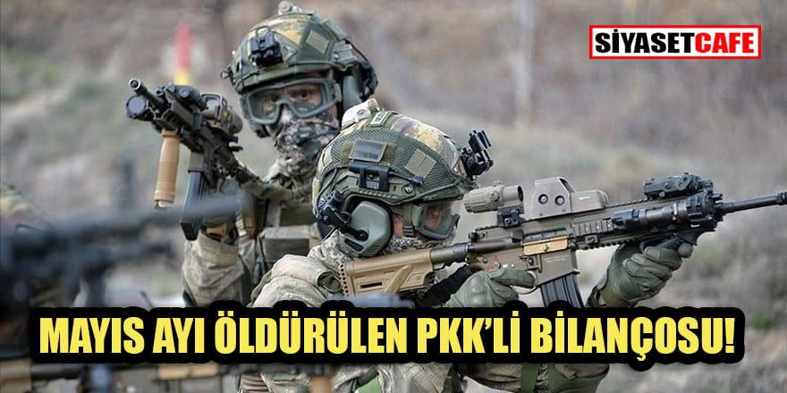 Mayısta yok edilen PKK'li sayısı açıklandı