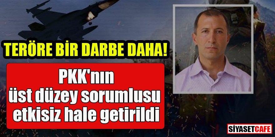 Teröre bir darbe daha: PKK'nın üst düzey sorumlusu etkisiz hale getirildi