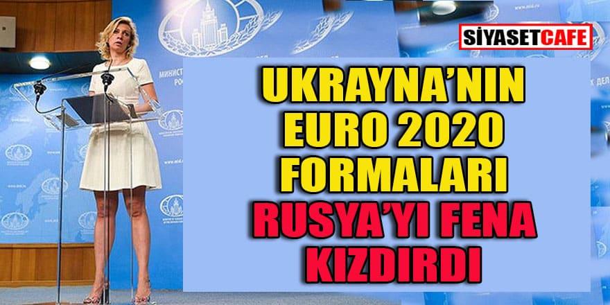 Ukrayna'nın Euro 2020 formaları Rusya'da kriz yarattı