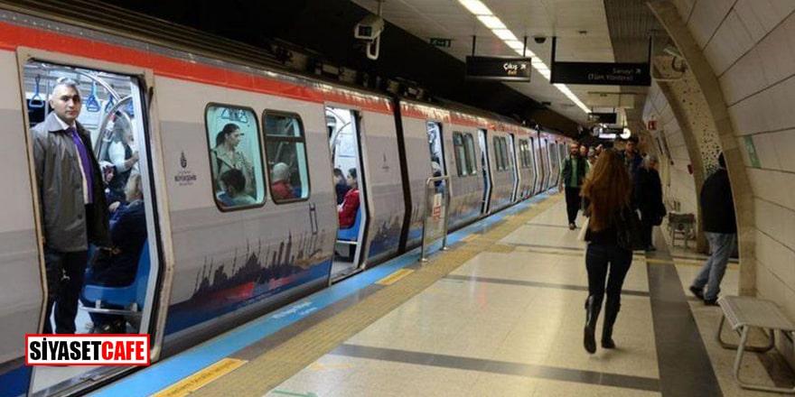 Yenikapı metro seferleri durduruldu