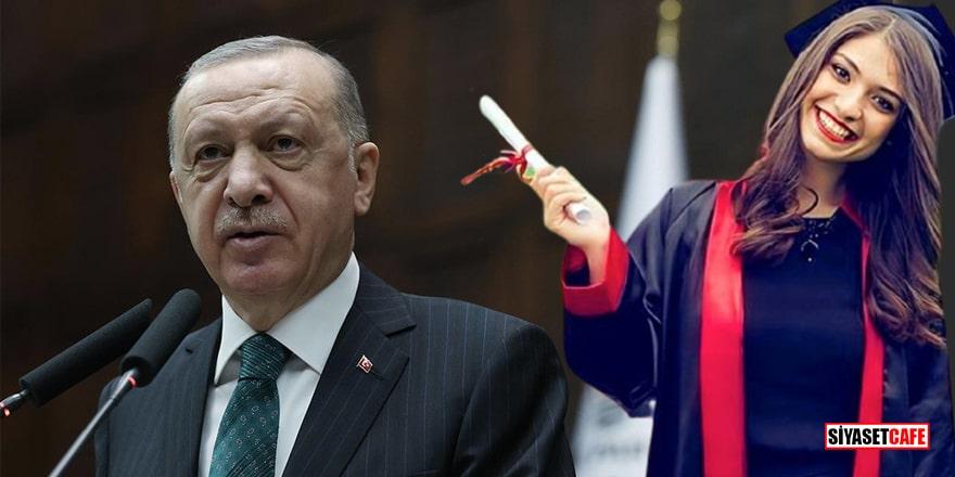 Cumhurbaşkanı Erdoğan'dan Aybüke öğretmen mesajı