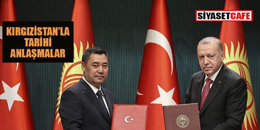 Kırgızistan'la Türk dünyasını sevindirecek anlaşmalar
