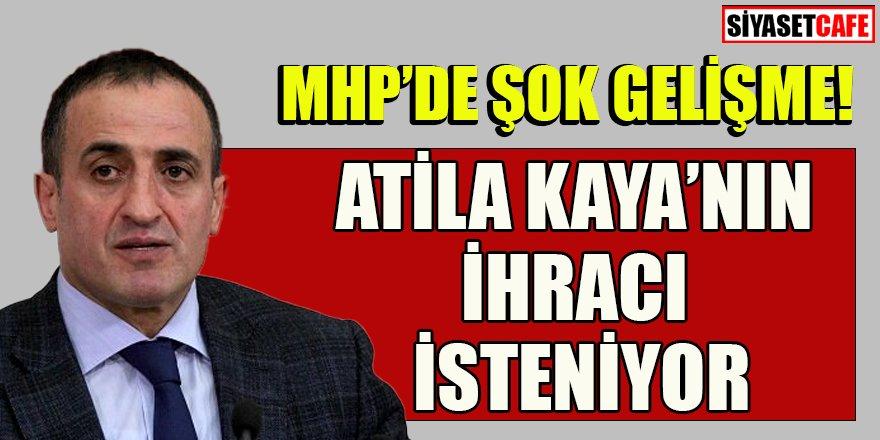 MHP'de şok gelişme: Atila Kaya'nın ihracı isteniyor