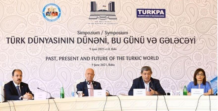 """Bakü'de """"Türk Dünyasının Dünü, Bugünü ve Geleceği Sempozyumu"""""""