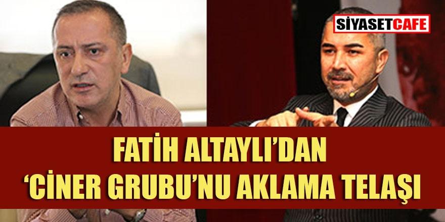 Fatih Altaylı'dan 'Ciner Grubu'nu aklama telaşı! Konu: Veyis Ateş
