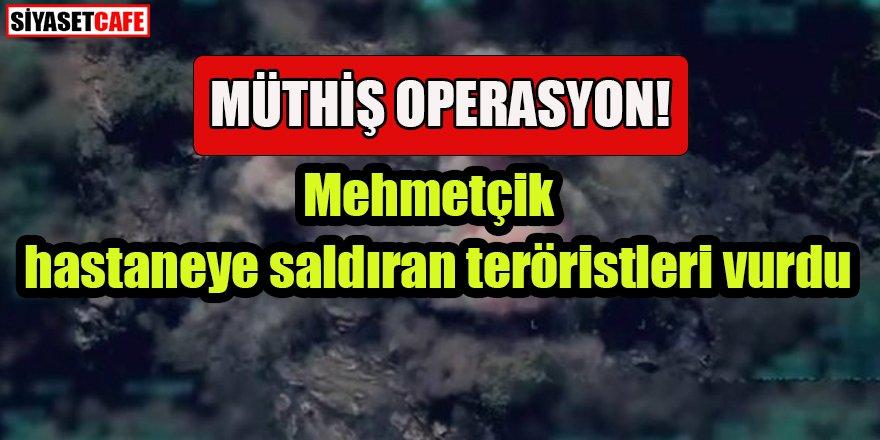Mehmetçik'ten operasyon: Hastaneye saldıran teröristler imha edildi