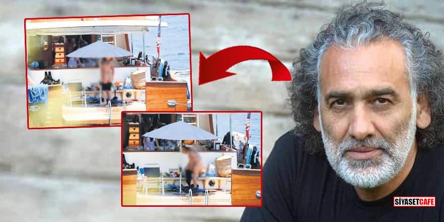 Yönetmen Sinan Çetin çırılçıplak görüntülendi