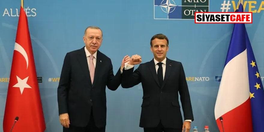 Macron'un Erdoğan'dan talebi şaşırttı