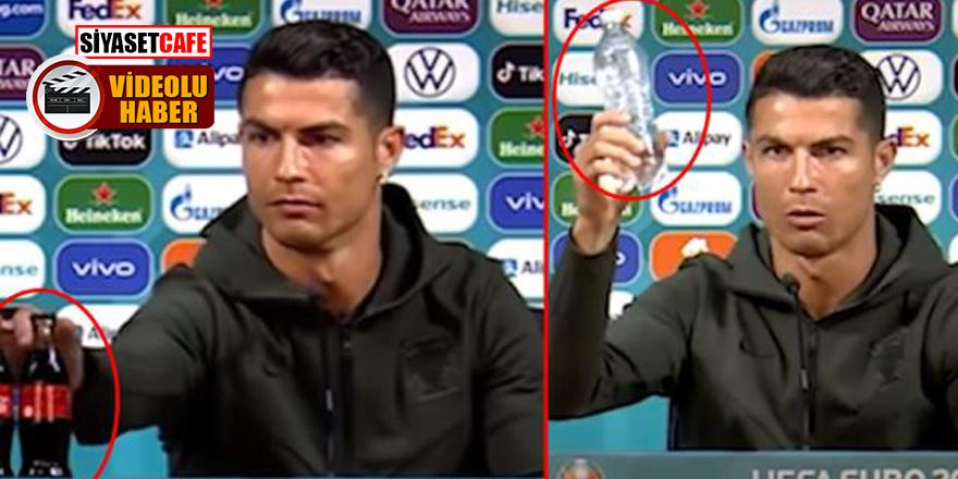 Ronaldo'nun o hareketi Coca-Cola'ya 4 milyar dolar kaybettirdi!