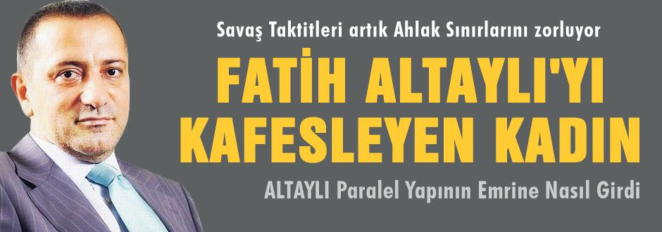 İşte Fatih Altaylı'yı kafesleten kadın