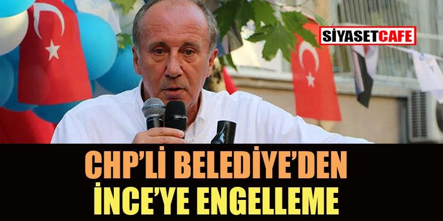 İnce'den Adana'da afiş tepkisi: Neden indirttin?
