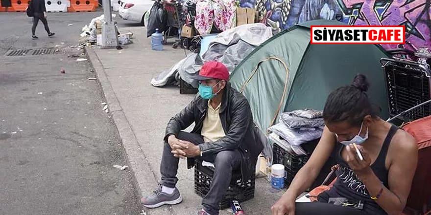 New York'ta otellere yerleştirilen 8 bin evsiz sığınaklara dönecek