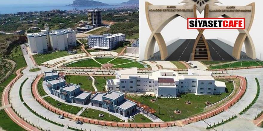 Üniversiteye 1.5 milyon liralık taş kapı halkın tepkisini çekti!