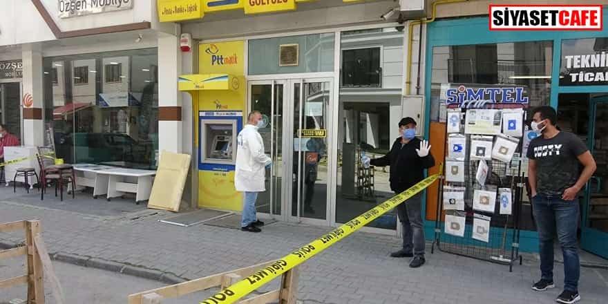 PTT şubesinden 170 bin lira çalındı