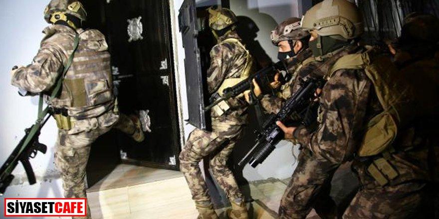 Saldırı hazırlığındaki teröriste yardım eden 8 kişi yakalandı