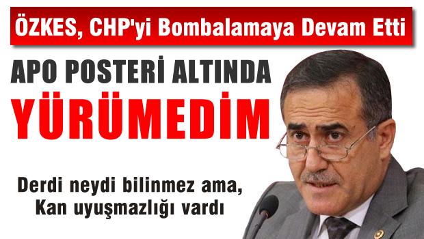 İhsan Özkes'ten Mahmut Tanal'a gönderme: Apo posteri altına yürümedim