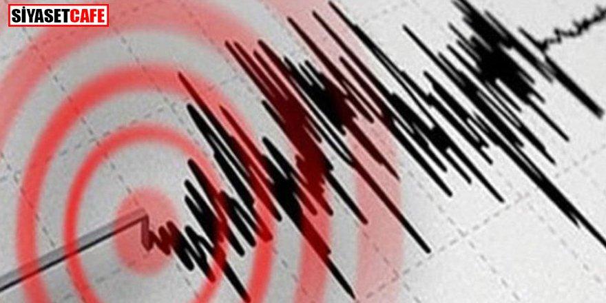 Datça'da 3.8 büyüklüğünde deprem
