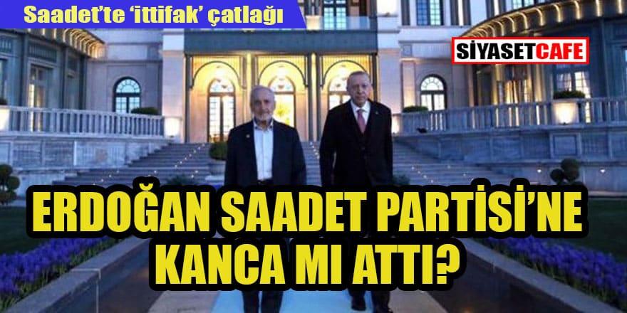 'Erdoğan Saadet Partisi'ne Asiltürk'le el attı' iddiası
