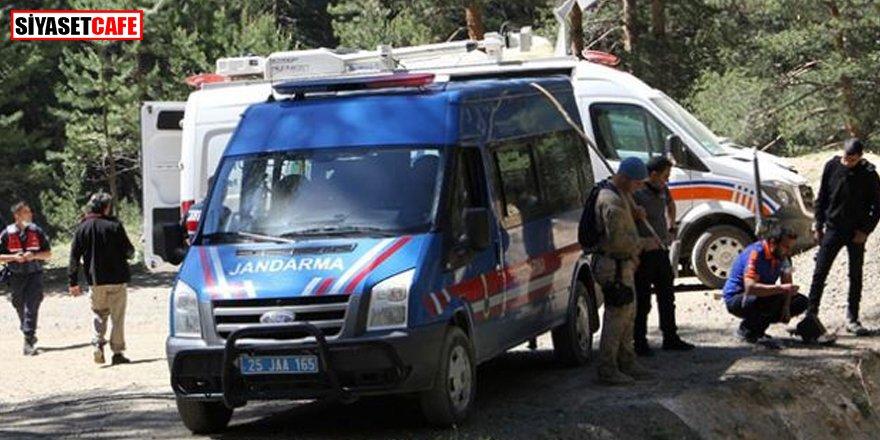 Erzurum'da parçalanmış erkek cesedi bulundu