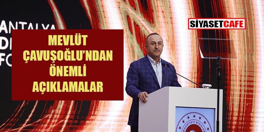 Dışişleri Bakanı Çavuşoğlu'ndan 'Kabil' açıklaması