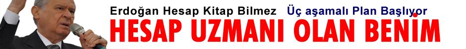 Erdoğan Hesap Kitap Bilmez