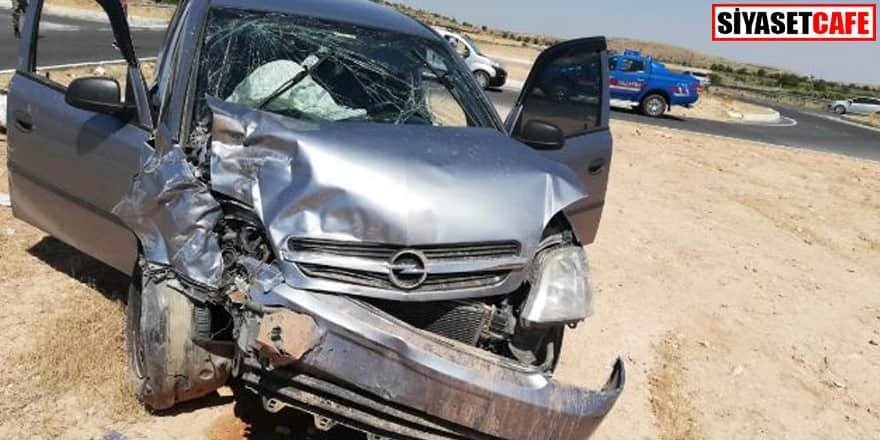 Mardin'de trafik kazası: Birden fazla yaralı