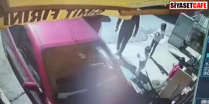 El freni çekilmeyen otomobil fırına girdi