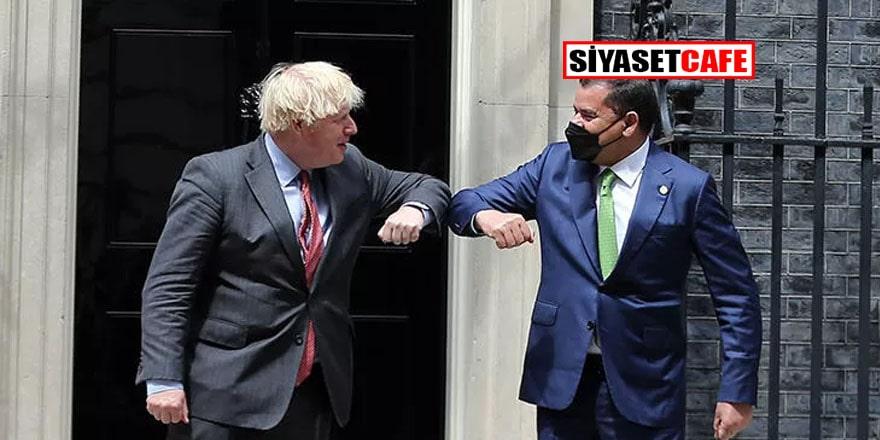 Libya Başbakanı Dibeybe Londra'da Johnson'la görüştü