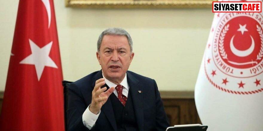 Bakan Akar: 'Nereye kaçarlarsa kaçsınlar terörü bitireceğiz'