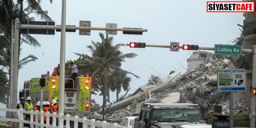 ABD'de 12 katlı bina çöktü: 100 kişiden haber alınamıyor