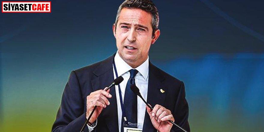 Tek aday olan Ali Koç yeniden başkan!