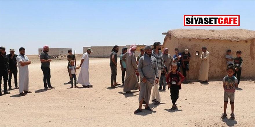 Tel Abyad halkı, terör örgütü YPG/PKK'nın sivil yerleşimleri hedef almasını protesto etti