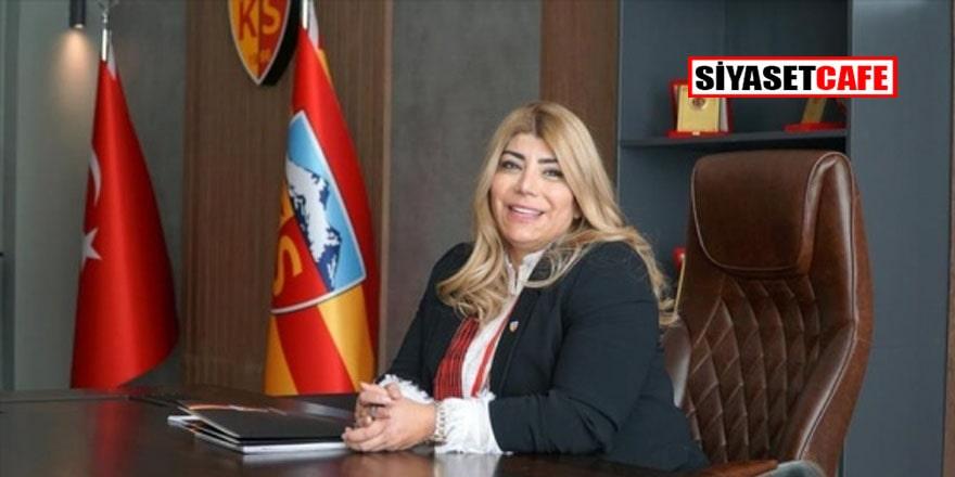 Türk kadınının gururu... Kayserispor'da Berna Gözbaşı yeniden başkan seçildi
