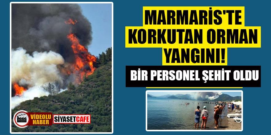 Bir orman yangını da Marmaris'te çıktı!