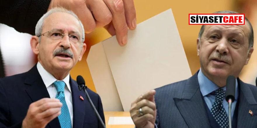 Son seçim anket sonuçlarına göre AKP'yle CHP arasındaki fark 'çakıldı'!