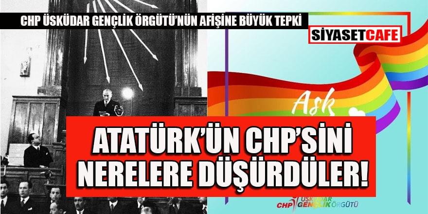 CHP Üsküdar Gençlik Kolları'nın LGBT paylaşımı sosyal medyayı ayağa kaldırdı!
