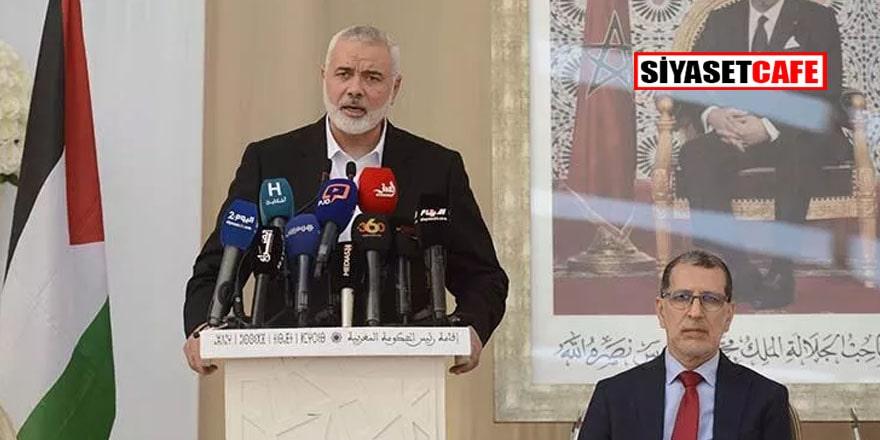 Hamas lideri Heniyye'den İsrail açıklaması