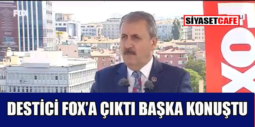 Mustafa Destici'den birden çok maaş alan bürokratlara eleştiri