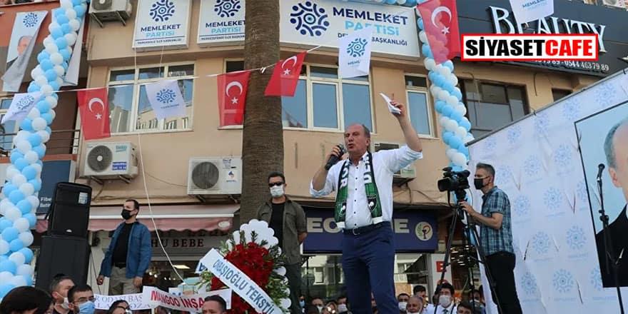 Muharrem İnce Kılıçdaroğlu'nu açık oturuma davet etti