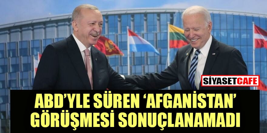 ABD-Türkiye arasındaki Afganistan pazarlığı  devam ediyor