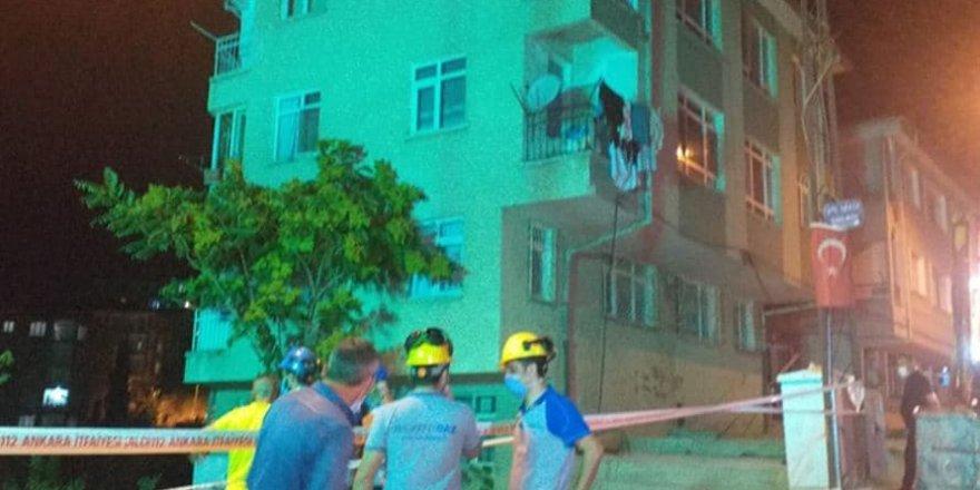 Ankara'da korkulu gece: 5 bina tahliye edildi