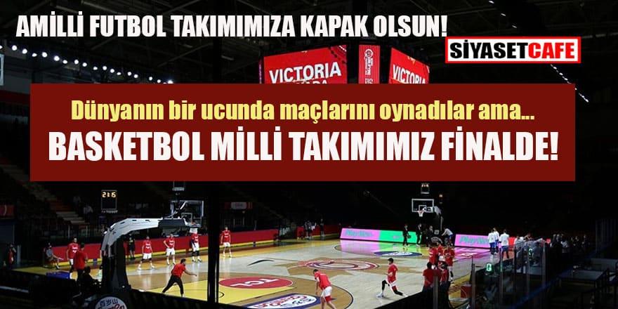 A Milli Erkek Basketbol Takımı yarı finale yükseldi