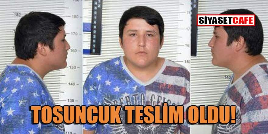 Tosuncuk Mehmet Aydın teslim oldu!