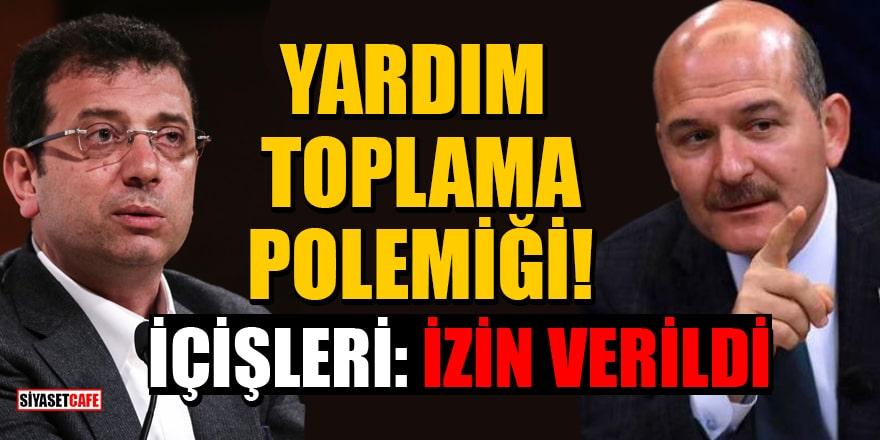 İçişleri'nden açıklama: İstanbul Vakfı'nın kurban bağışı toplamasına izin verilmiştir