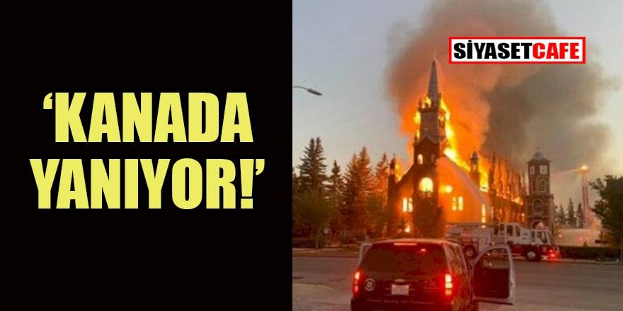 Irkçı Kanada'ya büyük öfke: Kiliseleri ateşe verdiler!