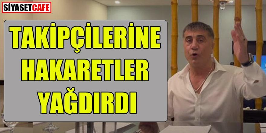 Sedat Peker'den eleştiri yapan takipçilerine hakaret