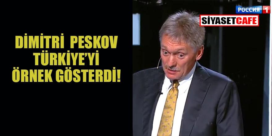 Dimitri Peskov'dan NATO açıklaması... Türkiye'yi örnek gösterdi