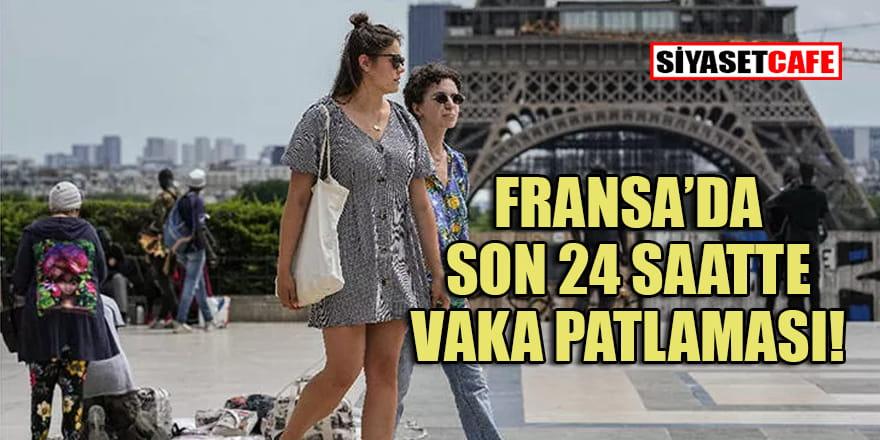 Fransa'da son 24 saatte 2 bin 549 yeni vaka