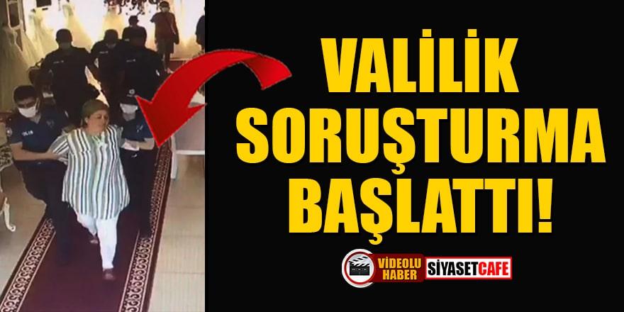 BBP Kadın Kolları İl Başkanı Fatma Yümlü'nün gözaltına alınmasıyla ilgili soruşturma başlatıldı