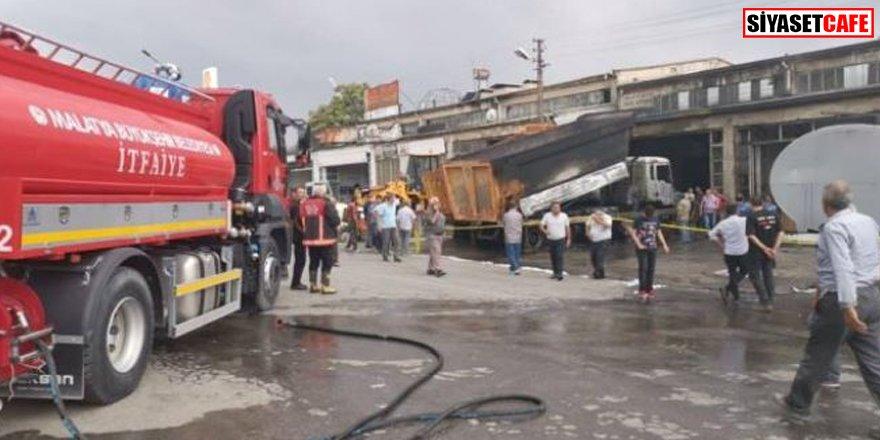 Malatya'da korkunç patlama: 3 yaralı